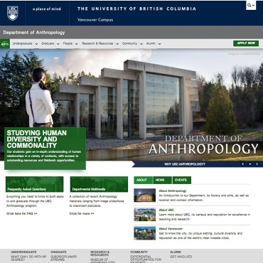 Department of Anthropology