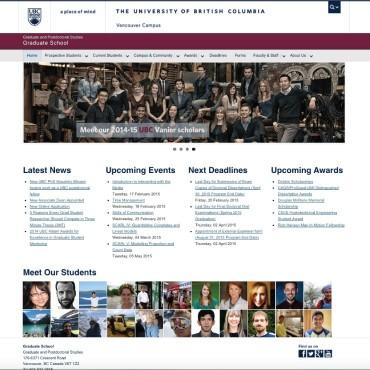 Graduate School, Graduate and Postdoctoral Studies